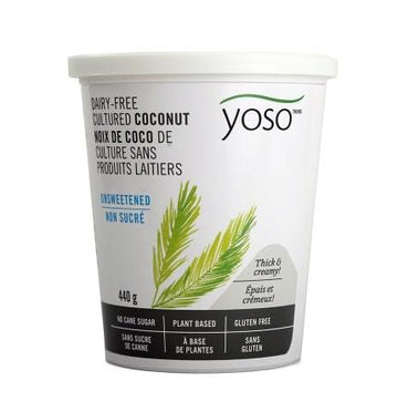 Cultured Coconut Yogurt Unsweetened 440g