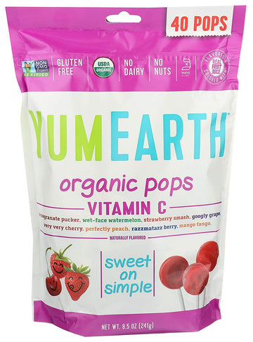 Vegan Fruit Pops 241g