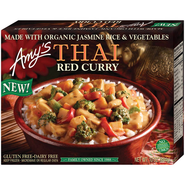 Amy's Kitchen Thai Red Curry Bowl 284g 284g