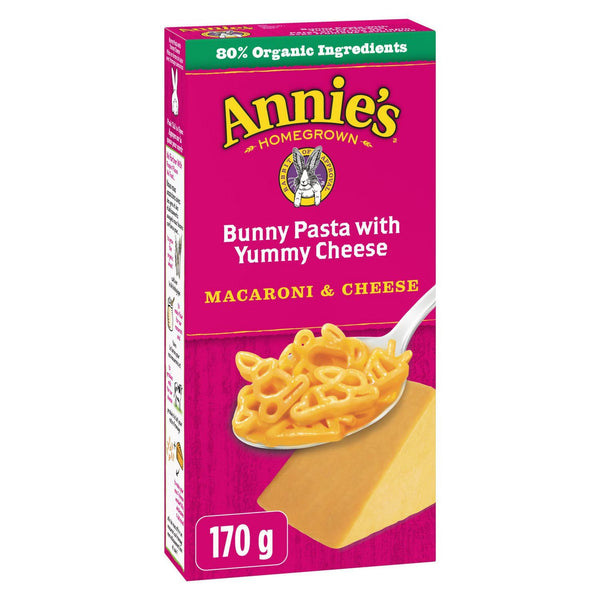 Annie's Homegrown Bunny Pasta with Yummy Cheese Pasta Meals 170g