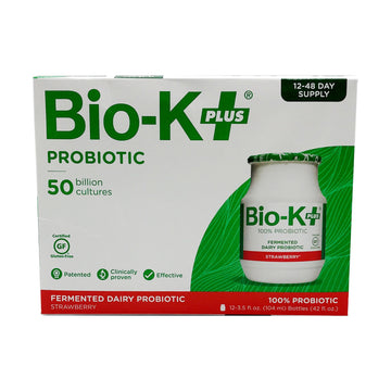 Bio K Dairy Strawberry 12x98g