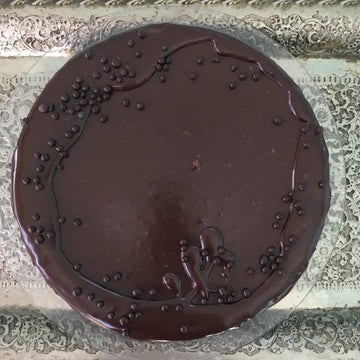 "Chocolate Quinoa Cake 6"" WF"
