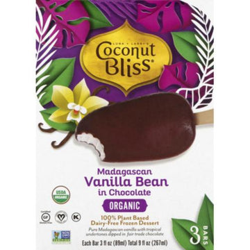 Vanilla Bean Dessert Bars 3 Pack