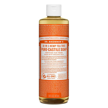 Tea Tree Castile Soap Organic (473ml/946ml)