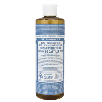Unscented Castile Soap Organic (473ml/946ml/3.8L)