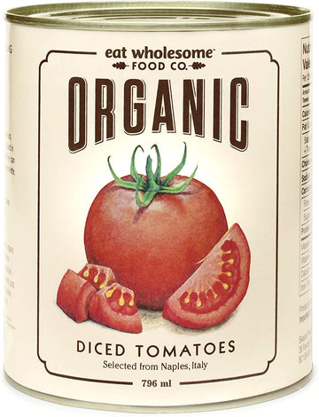 Full Case Organic Diced Tomatoes 12x796ml