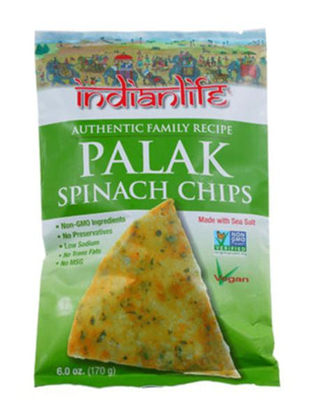 Palak Spinach Chips 170g