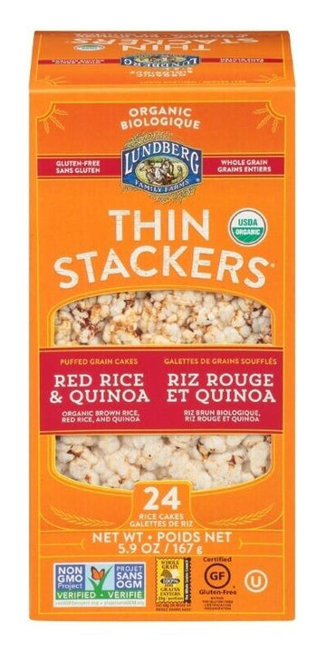 Red Quinoa Thin Stackers 167g