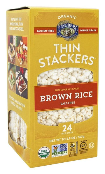 Unsalted Thin Stackers 167g