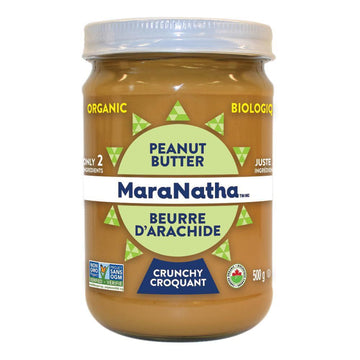 Peanut Butter Crunchy with Salt Organic 500g