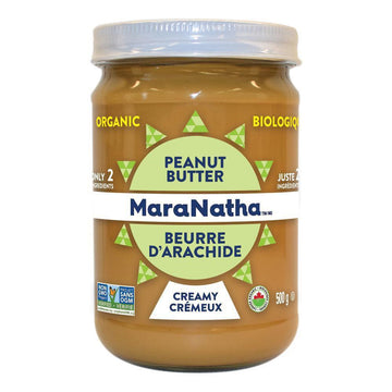 Peanut Butter Smooth with Salt Organic 500g