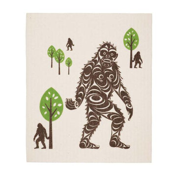 Eco Dishcloth Sasquatch