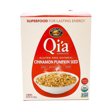 Qia Hot Cereal Cinnamon Pumpkin 6x38g