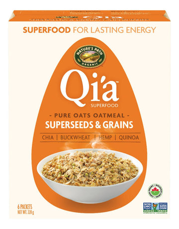 Qia Hot Cereal Superseed 6x38g
