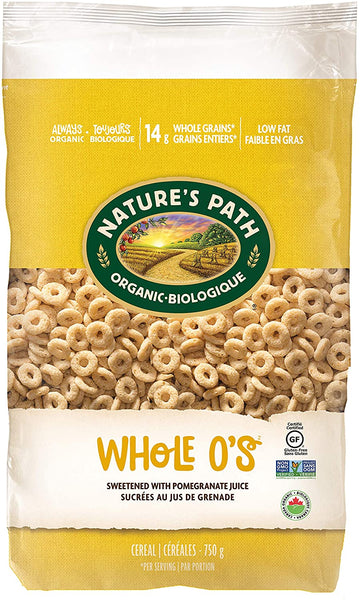 Whole O's Eco Pac Cereal 750g