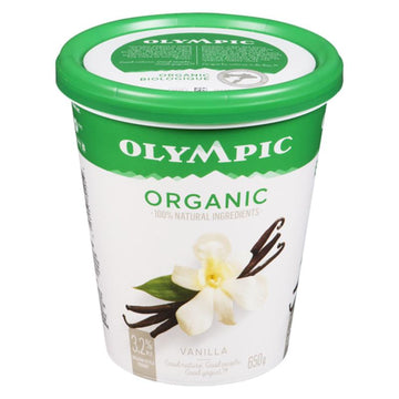 French Vanilla Organic Yogurt (650g/1.75kg)