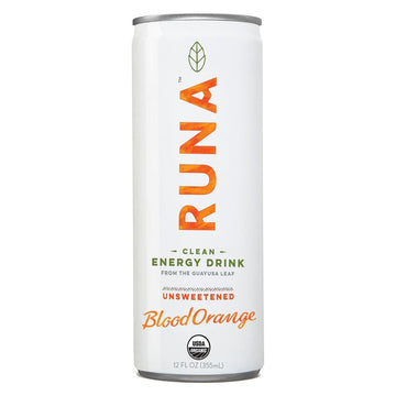 Runa Clean Energy Blood Orange 355ml