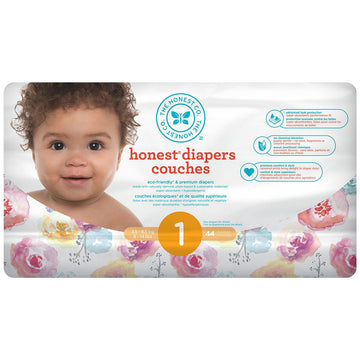 Diapers Size 1 Rose Blossom 44ct