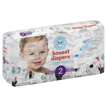 Diapers Size 2 Space Travel 40ct