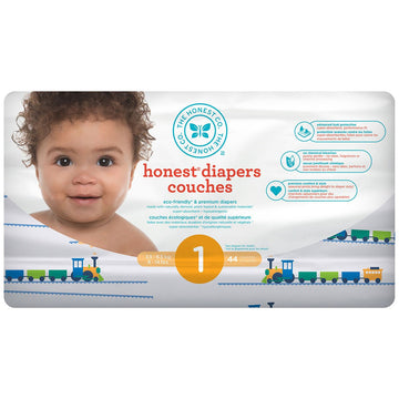 Diapers Size 1 Trains 44ct
