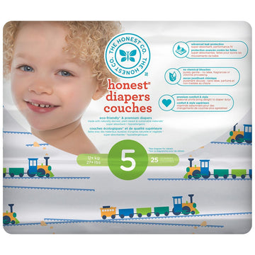 Diapers Size 5 Trains 25ct