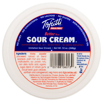 Original Non-Dairy Sour Cream 340g