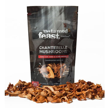 Dried Chanterelle Mushrooms - Wine Aged 20g
