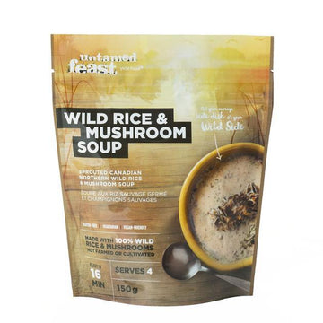 Wild Rice and Mushroom Soup 150g