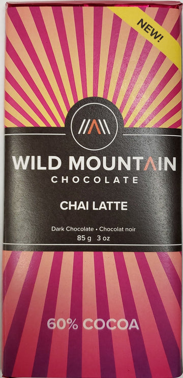 Chai Latte 60% Chocolate Bar 85g