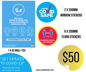 Small Covid Business Pack