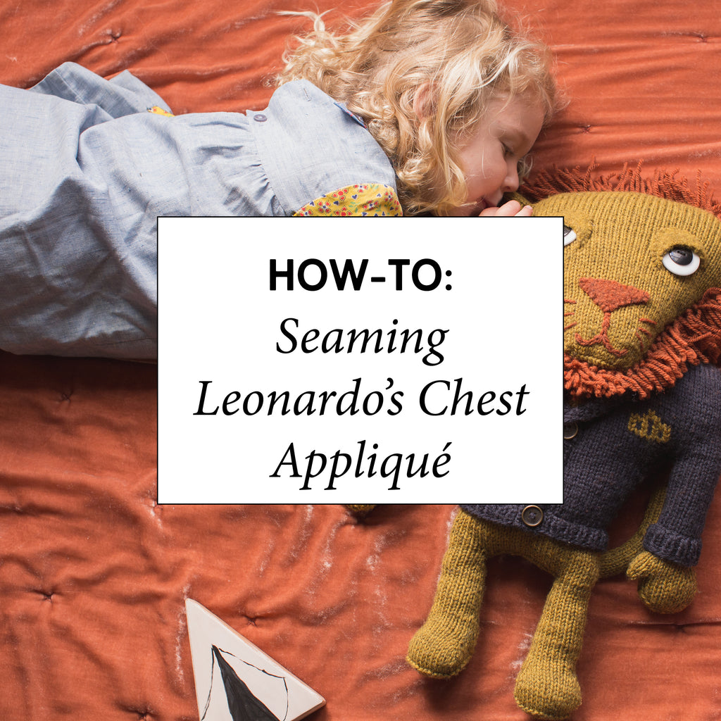 How-To: Seaming Leonardo's Chest Appliqué