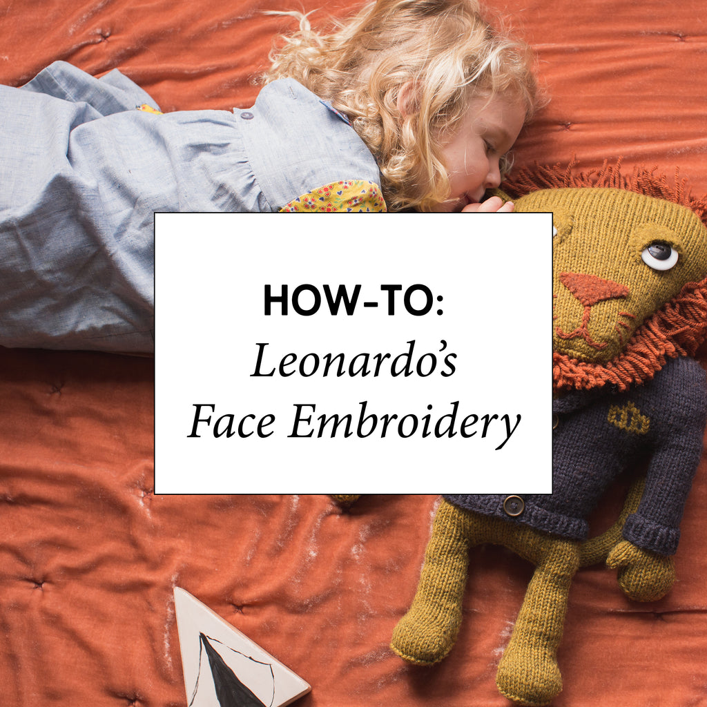 How-To: Leonardo's Face Embroidery