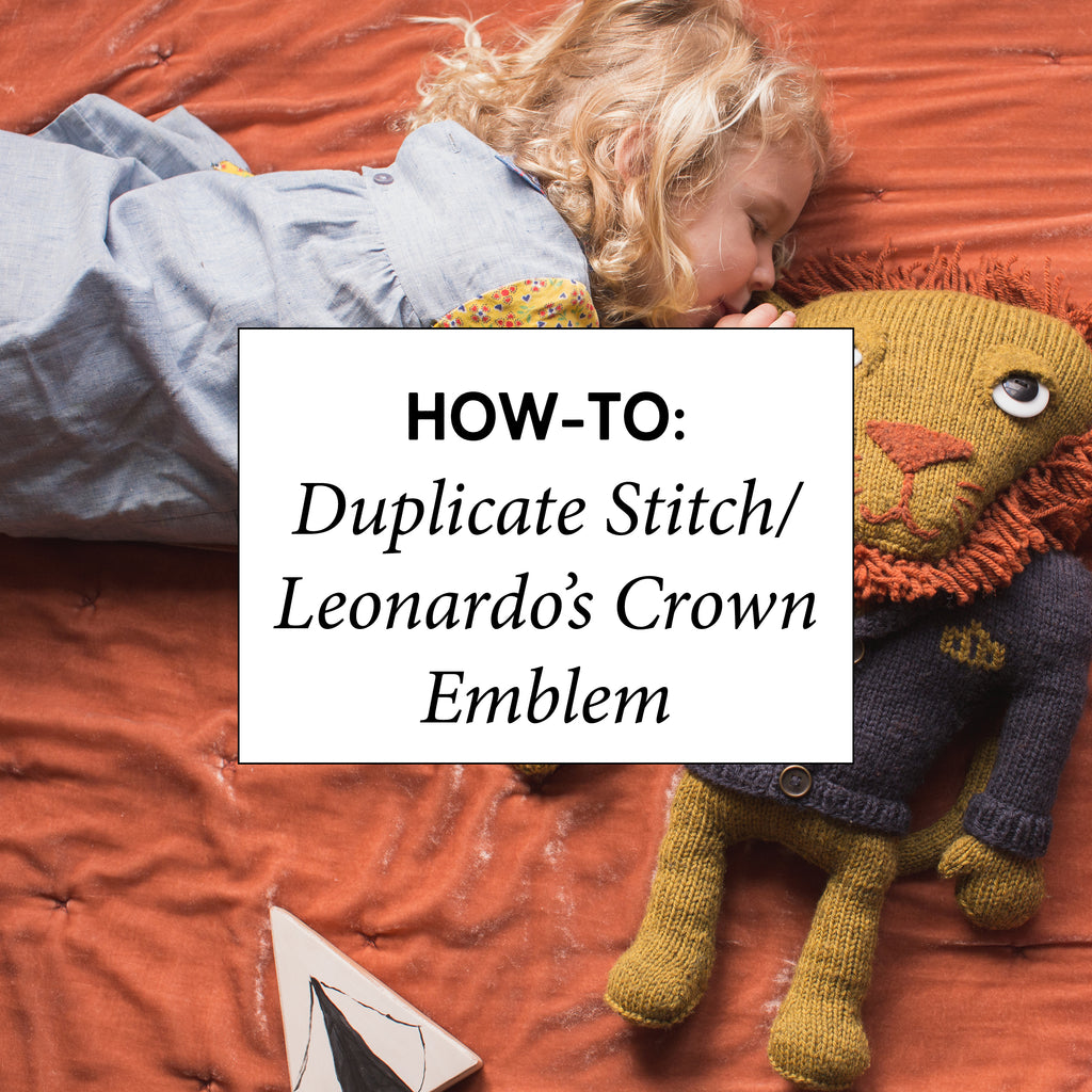 How-To: Duplicate Stitch / Leonardo's Crown Emblem