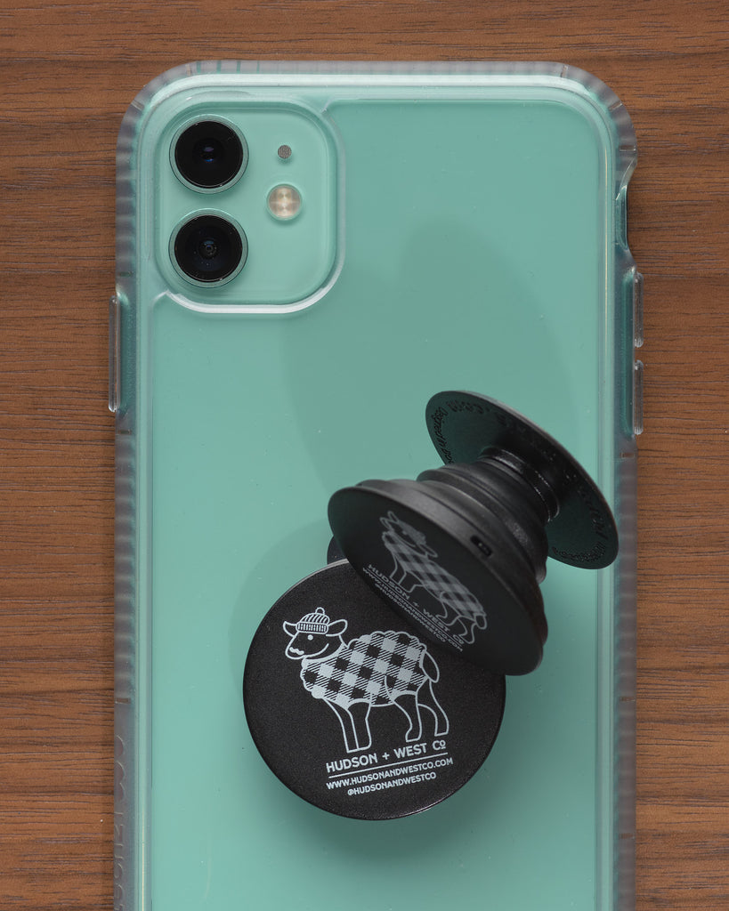 Hipster Sheep Pop Socket