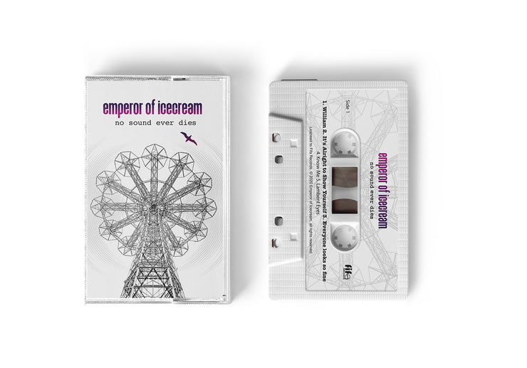 "EMPEROR OF ICECREAM ""NO SOUND EVER DIES"" LIMITED EDITION CASSETTE"