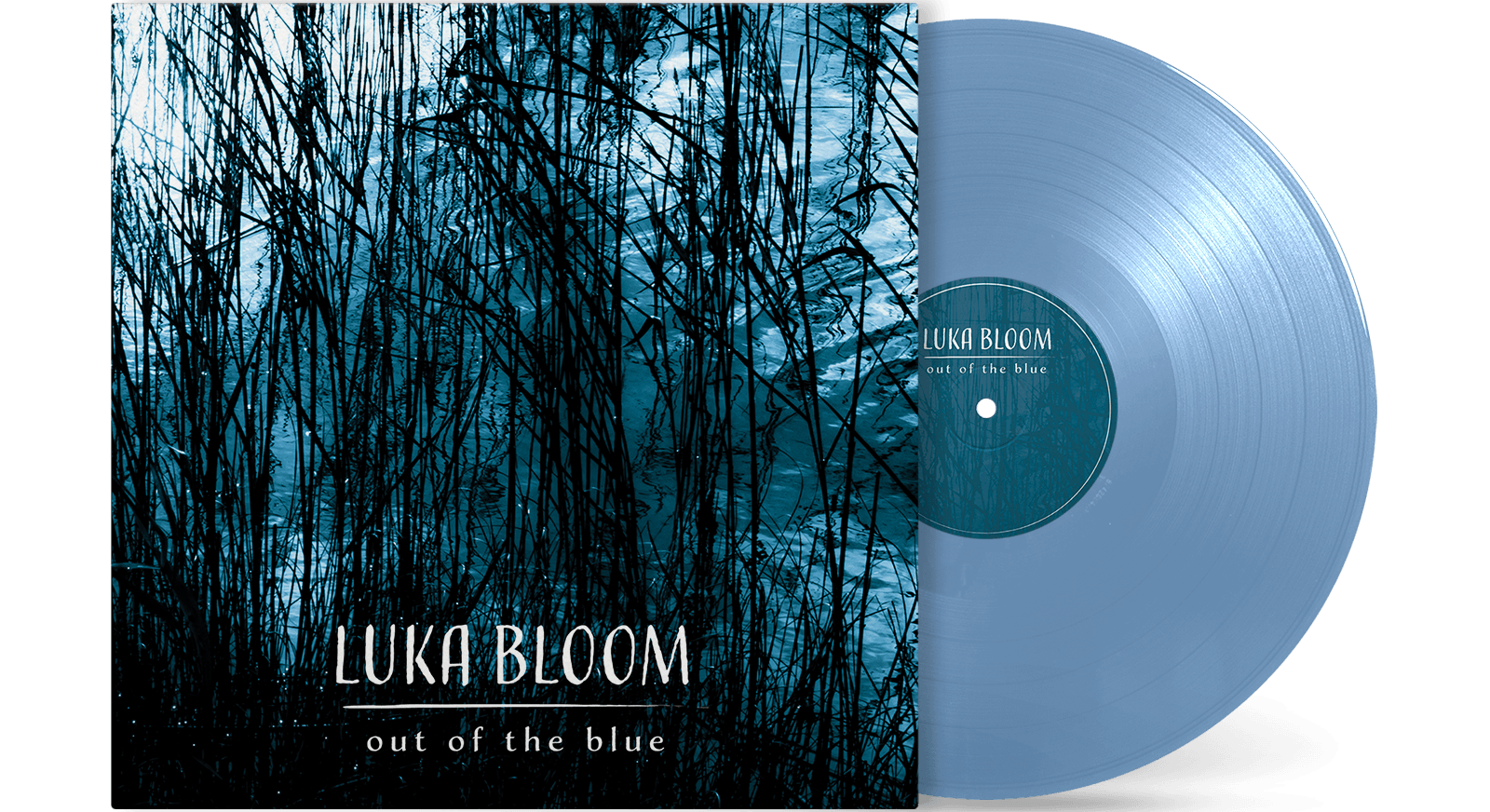 [PRE-ORDER] Luka Bloom - Out of the Blue [Transparent Blue Vinyl]