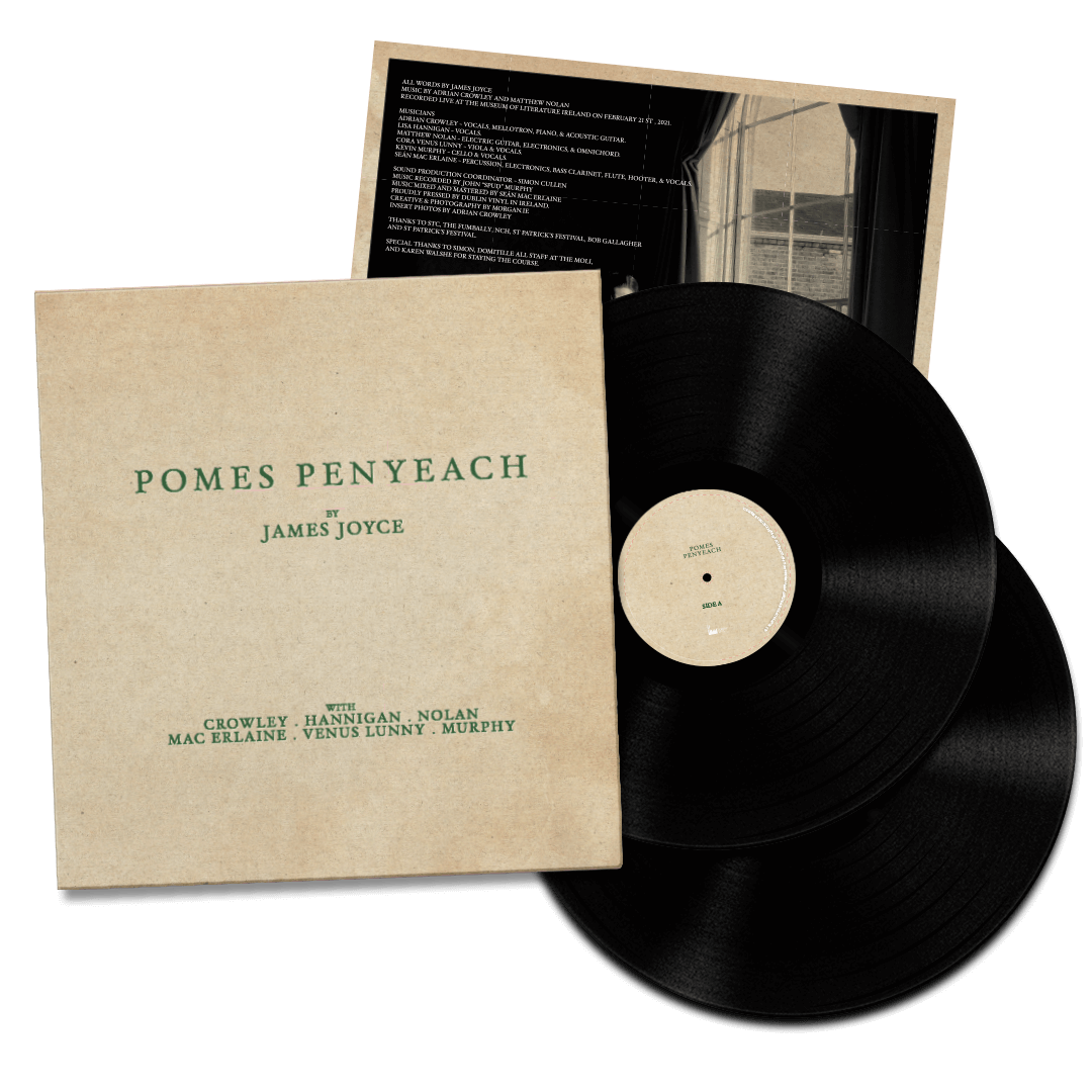 Pomes Penyeach <br> James Joyce Set To Song [Special Collectors Edition]