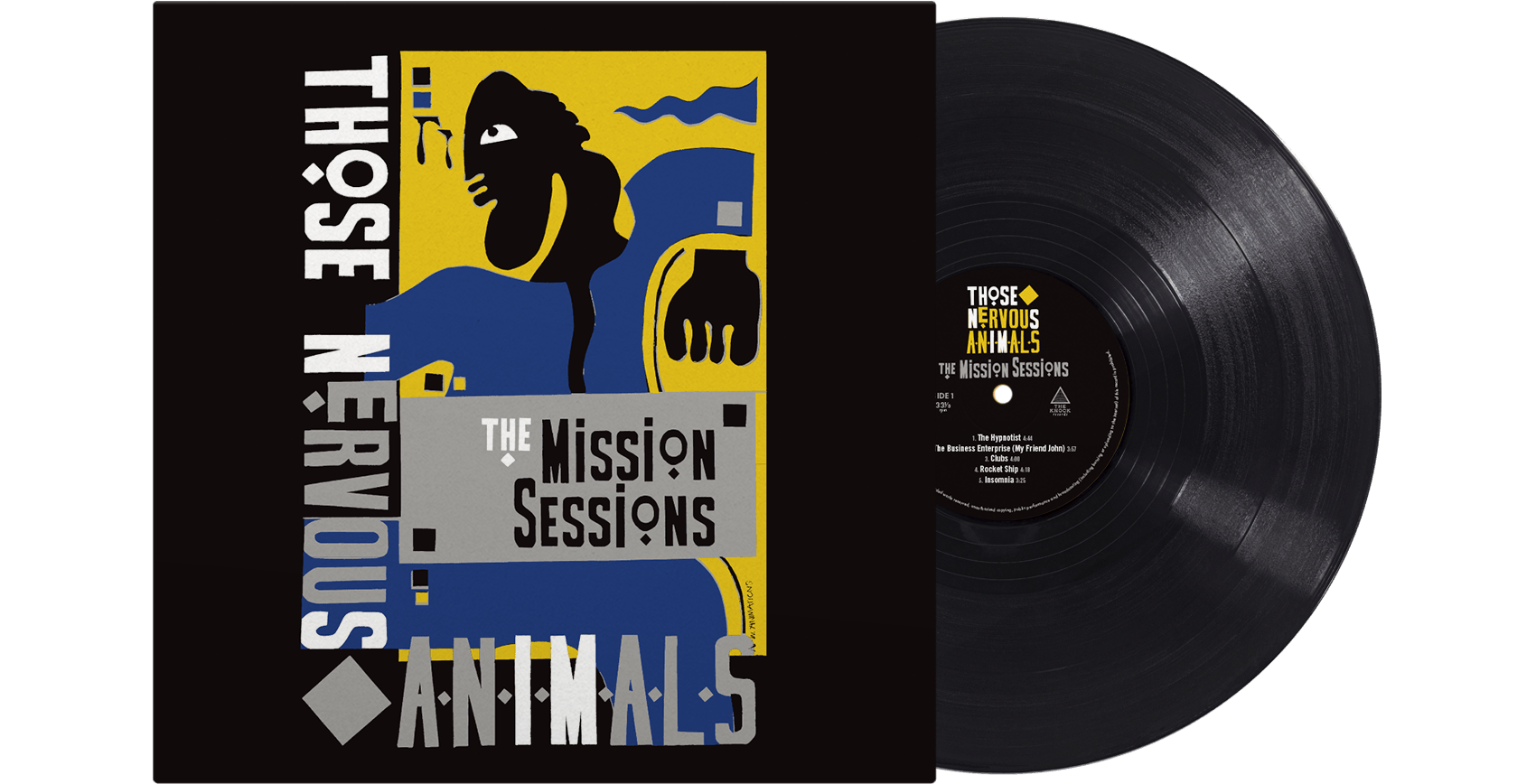 Those Nervous Animals <br> The Mission Sessions