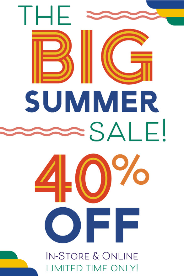 Shop 40% OFF The BIG Summer Sale! Before it's too late!