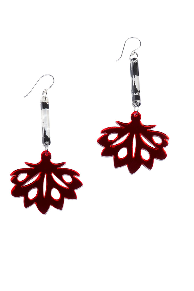 Cherry Mirror Enchanted Drop Dangles