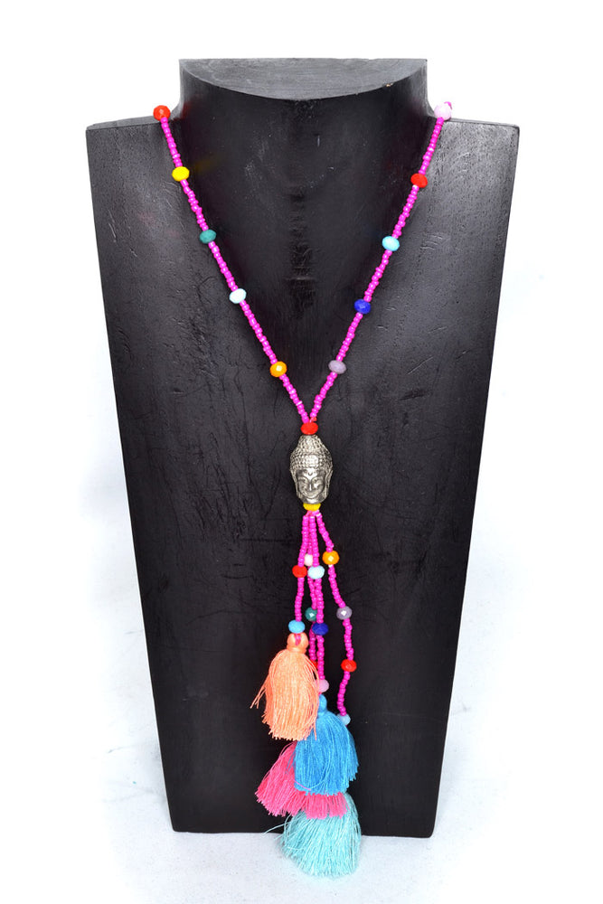 Load image into Gallery viewer, Boho Buddha Necklaces - Keshet Design