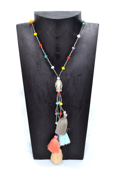 Boho Buddha Necklaces - Keshet Unique Colourful Women's Clothing Tasmania Australia