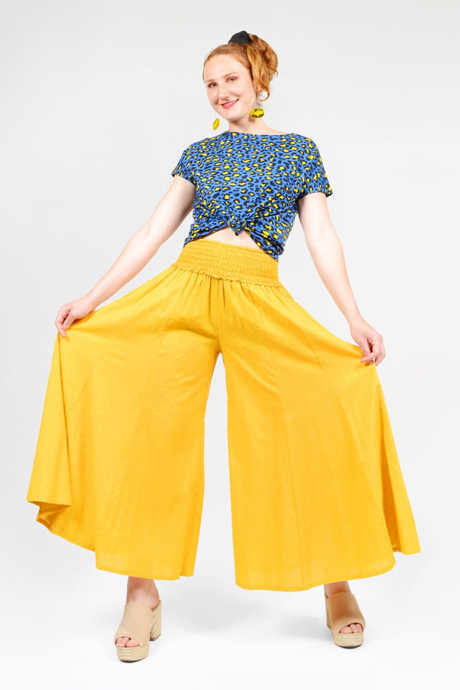 Load image into Gallery viewer, Corrina Wide Leg Pants Plain