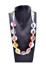 Circle Cloth Necklace