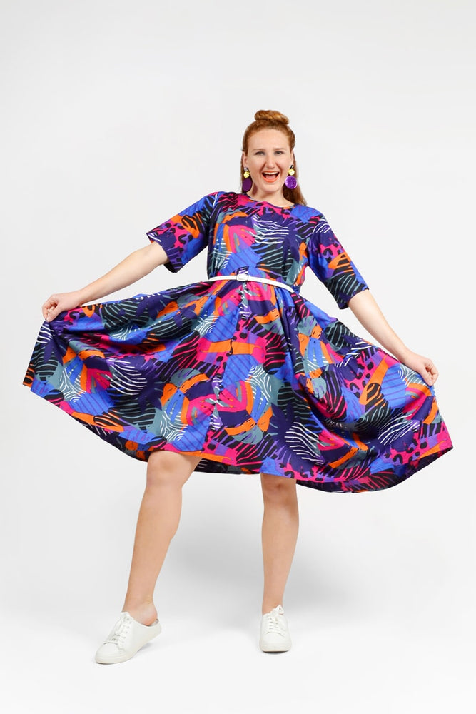 Magnolia Dress - Keshet Unique Colourful Women's Clothing Tasmania Australia
