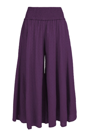 Corrina Wide Leg Pants Plain