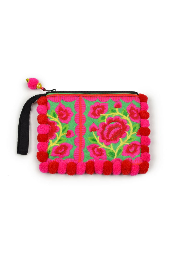 Hill Tribe Clutch - Keshet Unique Colourful Women's Clothing Tasmania Australia