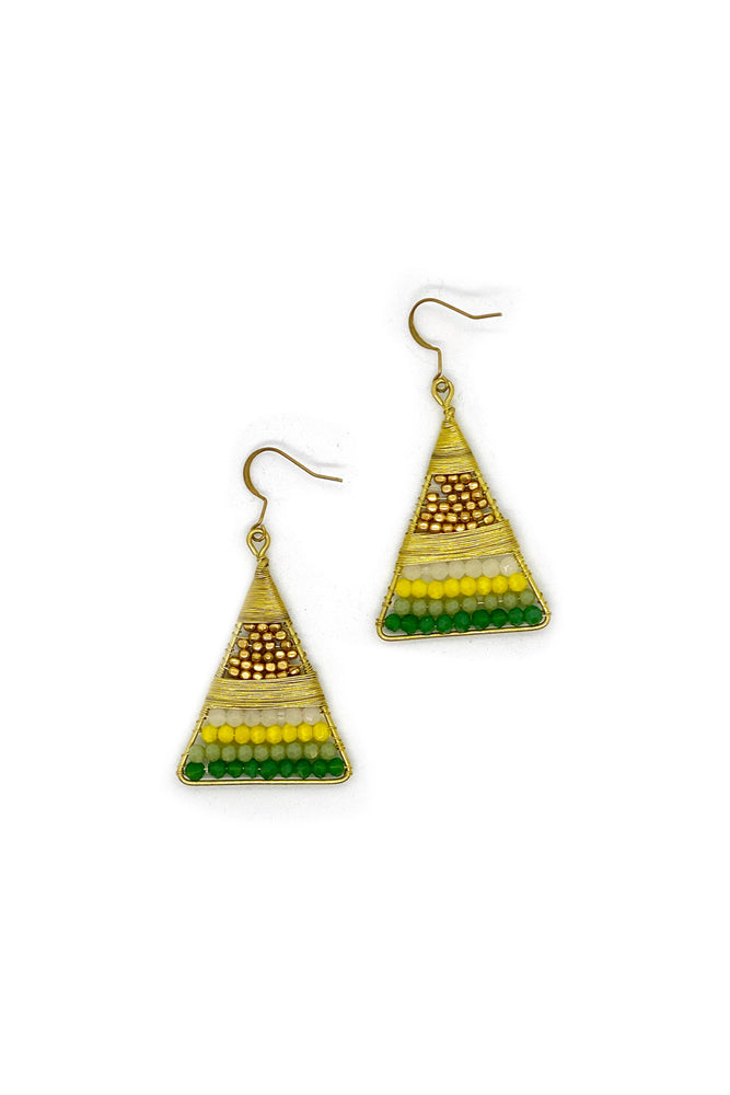 Eadie Triangle Earrings