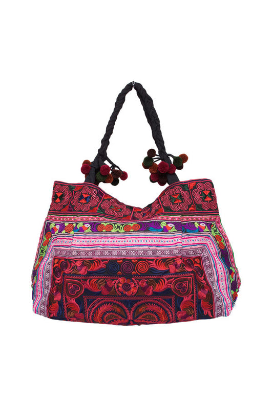 Hill Tribe Embellished Bag