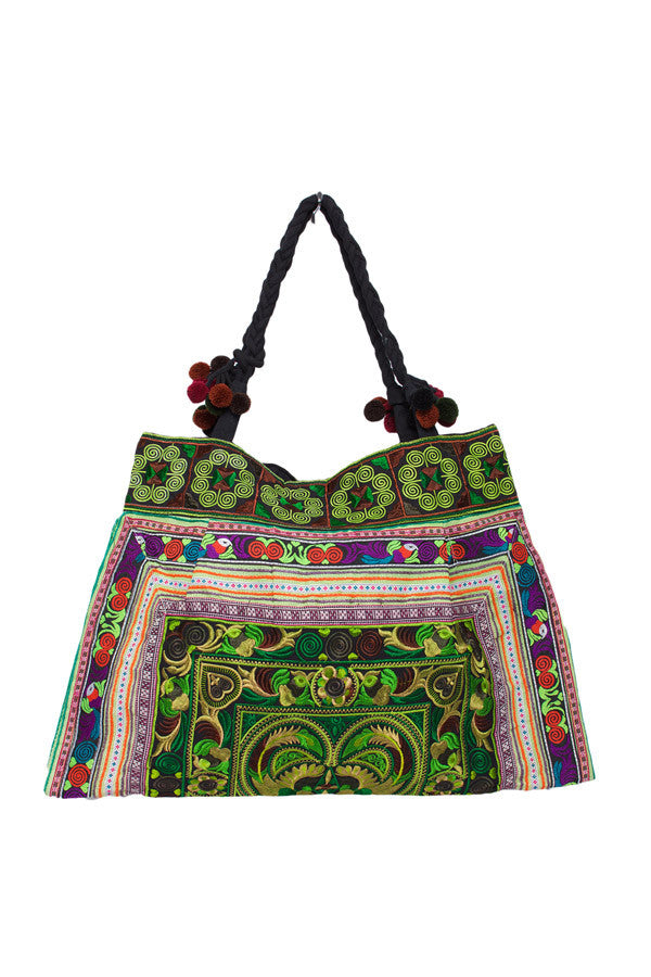 Hill Tribe Embellished Bag - Keshet Unique Colourful Women's Clothing Tasmania Australia